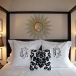 My Bedroom on Houzz & Monograms I Like