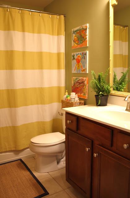 My kids 39 bathroom creating a shared space emily a clark for Shared bathroom ideas