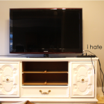 Turning a Dresser Into a TV Console