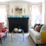 Simple Mantel Decorating