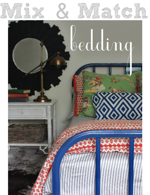 Mix And Match Bedding Options
