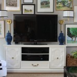 Using a Dresser as Our TV Console