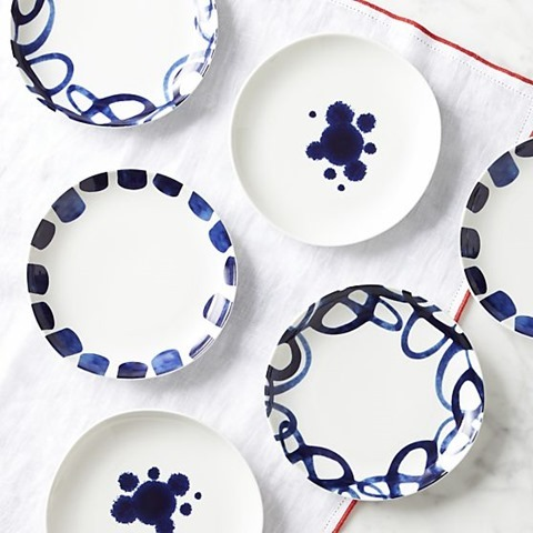Blue And White Plates blue and white for the table - emily a. clark