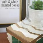 Spray Painted Books