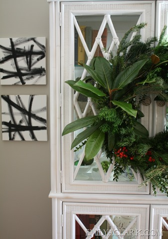 how to make a fresh christmas wreath