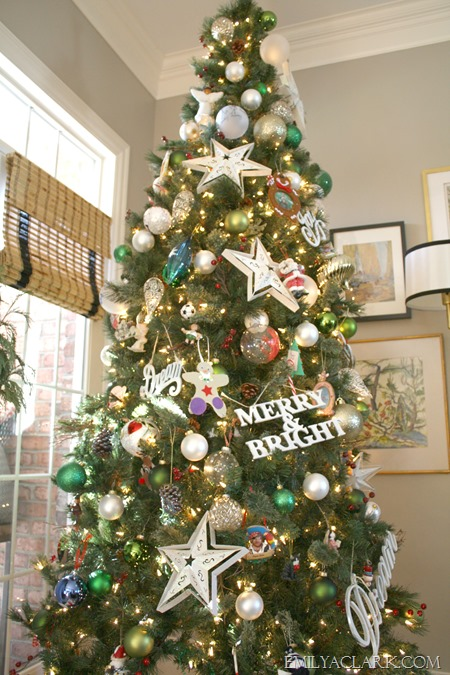 decorated tree
