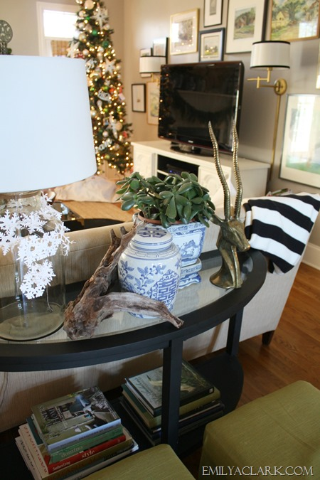 Christmas home tour at emilyaclark.com