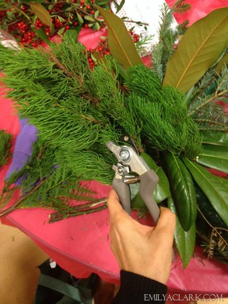 making-wreaths