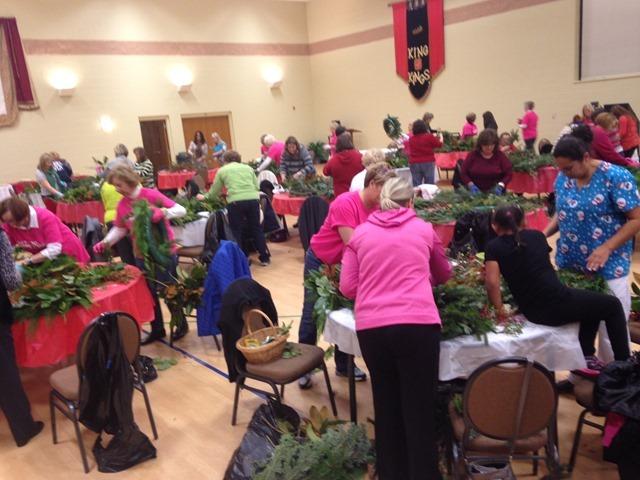 wreath event
