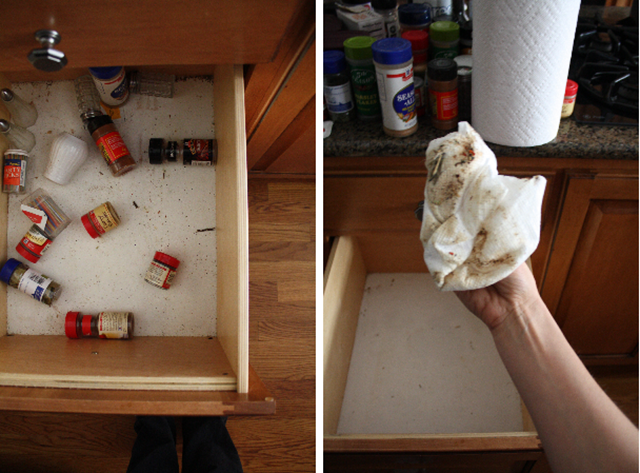 cleaning-drawer