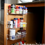 Organizing our spices and our shoes + A HOME DEPOT GIVEAWAY {CLOSED}