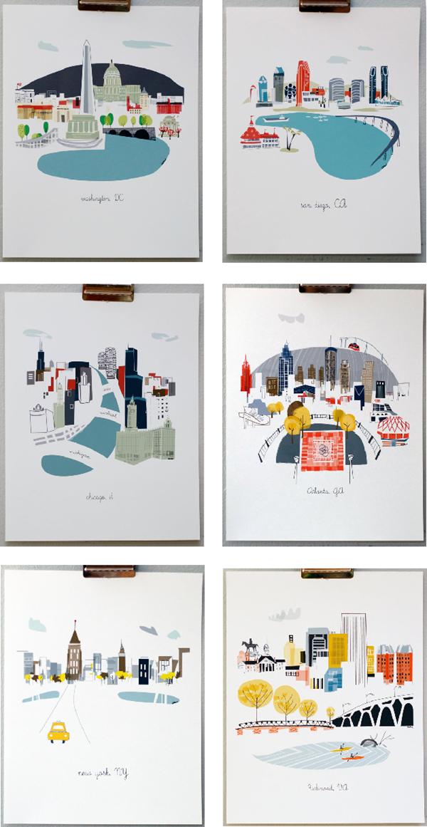 Albie Designs city prints
