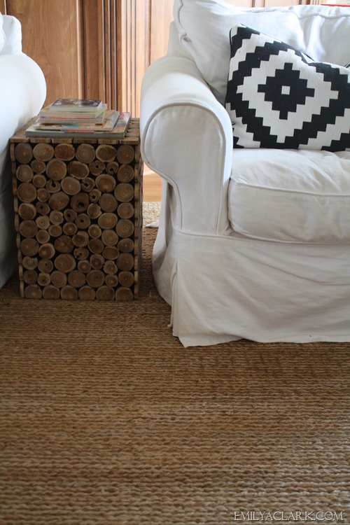 Soft Option for a Natural Area Rug