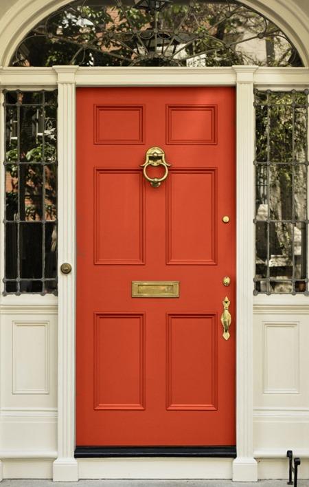orange-front-door