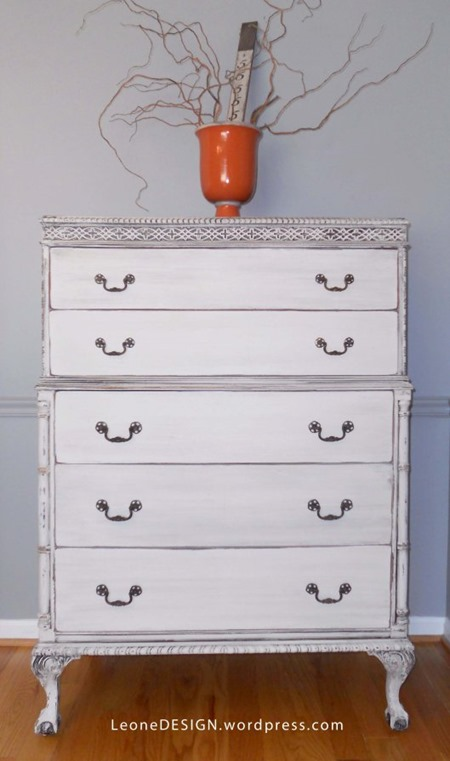 painted highboy