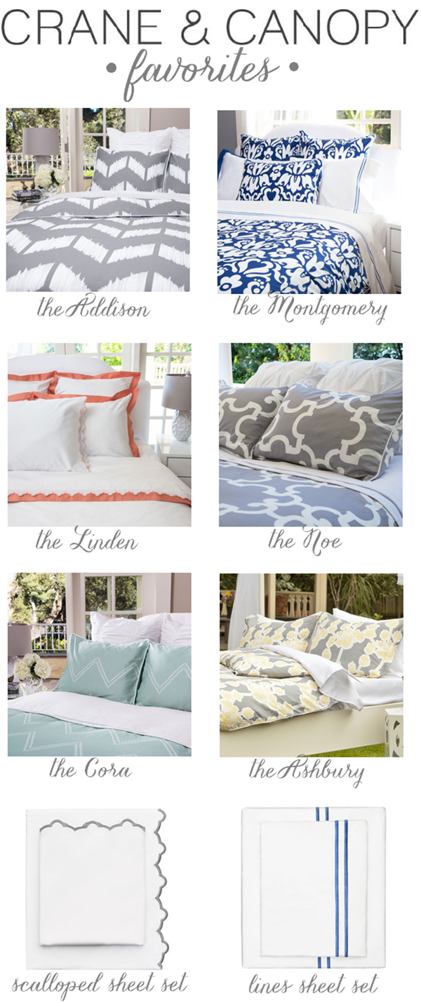 Bedding Favorites A Crane Canopy 100 Giveaway Closed Emily A Clark