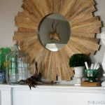 Our Mantel Styled Two Ways