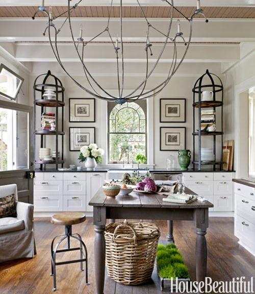 Open Kitchen House Beautiful