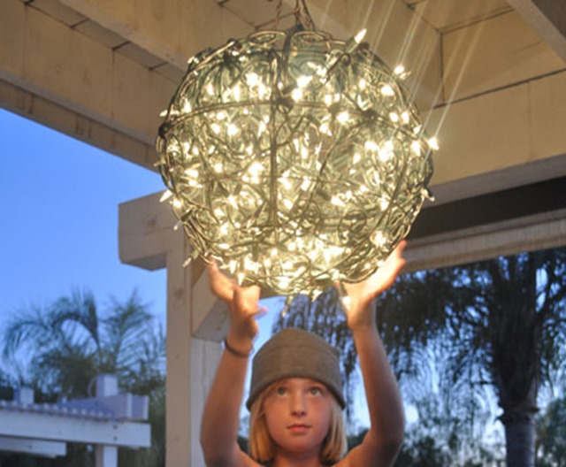 DIY-outdoor-chandelier