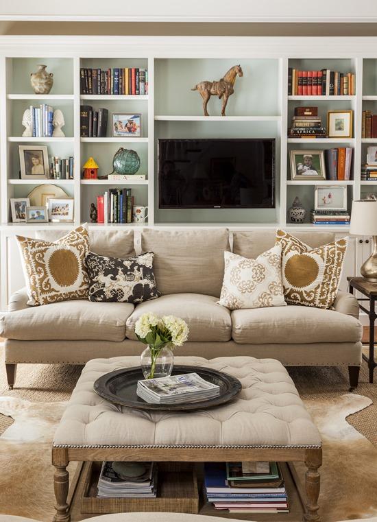 Clarke Fabric Sectional Sofa Living Room: Emily A. Clark