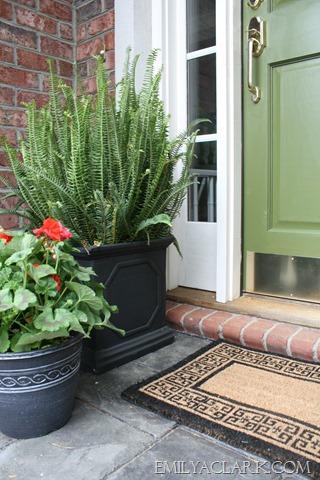 Stunning Green Doors - Emily A Clark