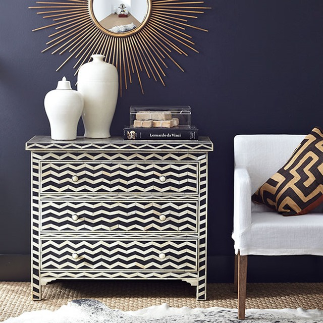 chevron painted furniture. Chevron Chest Wisteria Painted Furniture