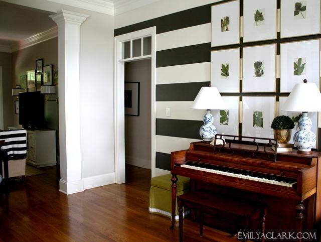 foyer gallery wall