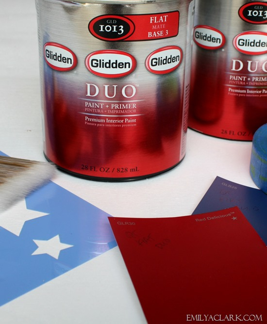 Glidden duo paint + primer