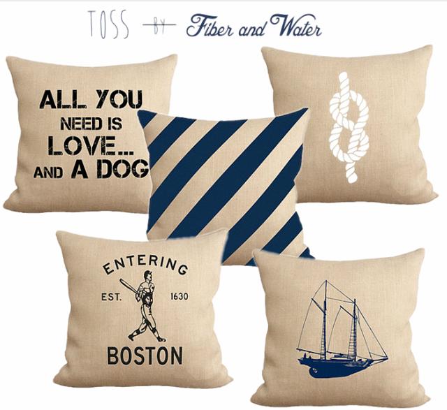 F&W pillows