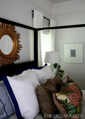 last minute sharpie art styling our nightstands emily 12231 | master bedroom art
