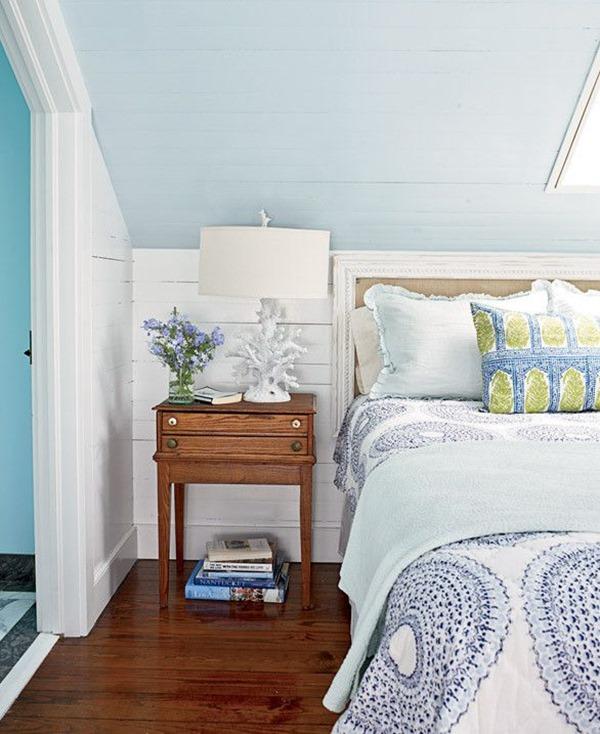 Painted Ceiling Bedroom