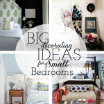 Working With: A Small Master Bedroom