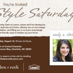 You're Invited: Style Saturday