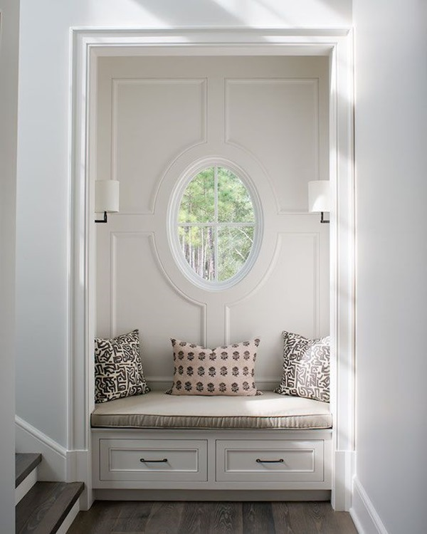 Giving Up A Coat Closet For A Pretty Entry Nook Emily A