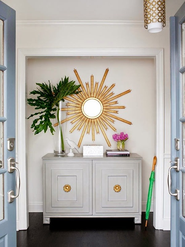Giving Up A Coat Closet For Pretty Entry Nook