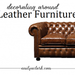 Working With: Leather Furniture