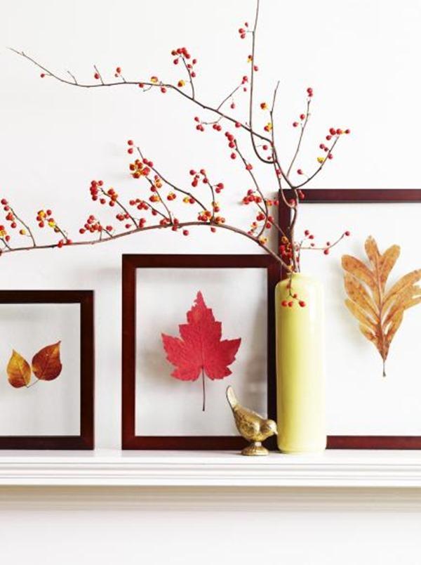 framing Fall leaves