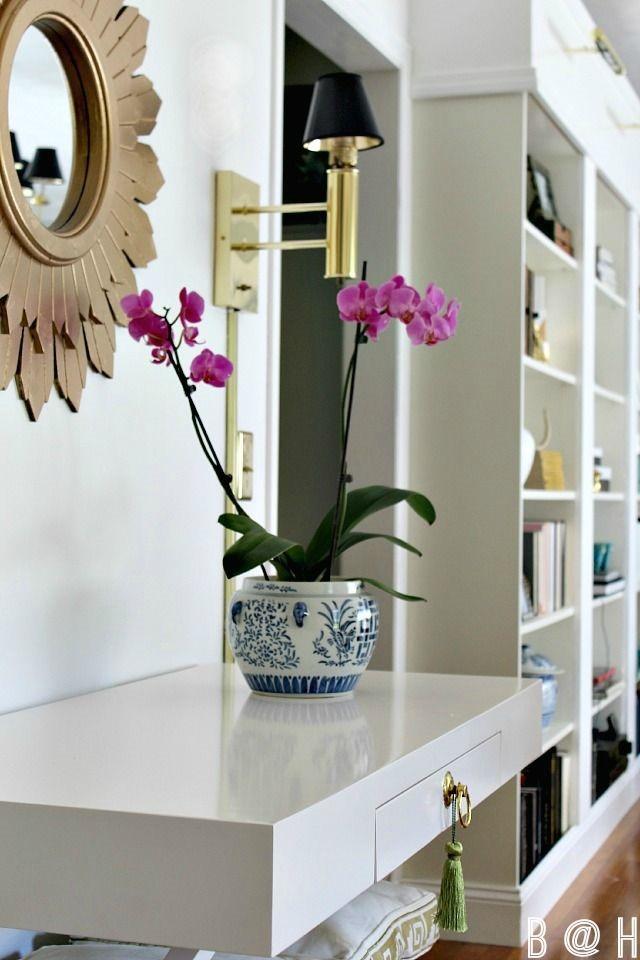 tassel on drawer pull via Bliss at Home
