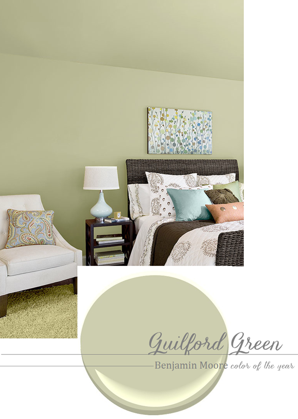A new neutral paint color guilford green living room for Neutral green paint colors for living room