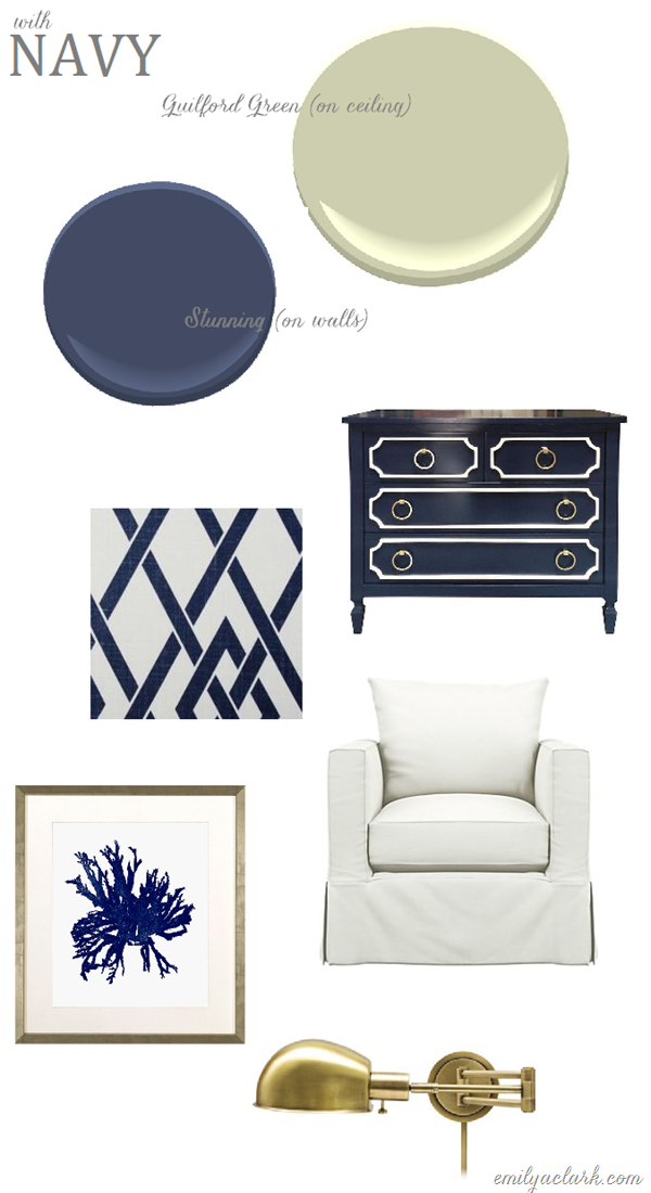 Stunning (navy) + Guilford Green
