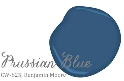 Prussian Blue (Benjamin Moore)