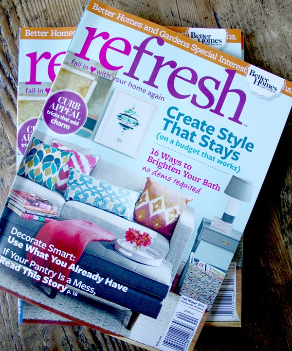 Our Home In BH&G Refresh Magazine - Emily A. Clark Refresh Magazine