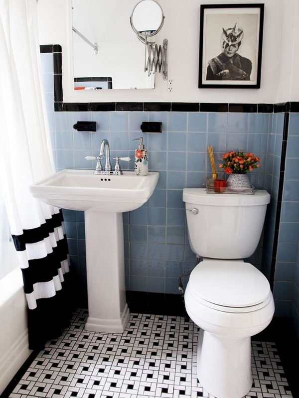 Good Vintage Tile Bathroom Ideas Part - 12: Working With: An Outdated Bathroom