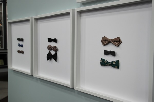 framed bowties