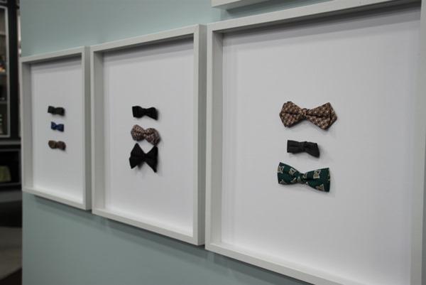 framed bowties