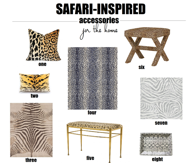 Safari-home-decor