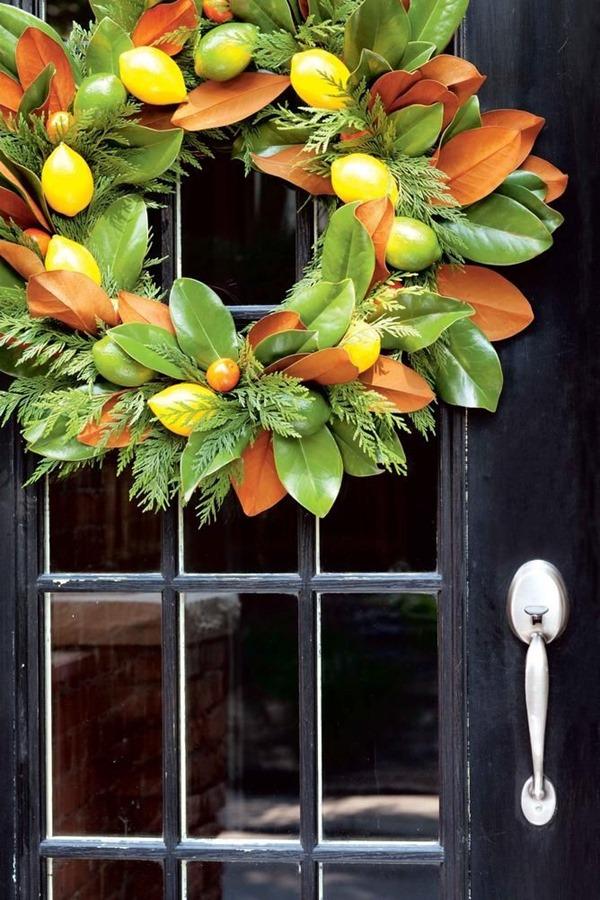 citrus-magnolia-wreath