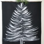 DIY Christmas Fabric Wall Hanging