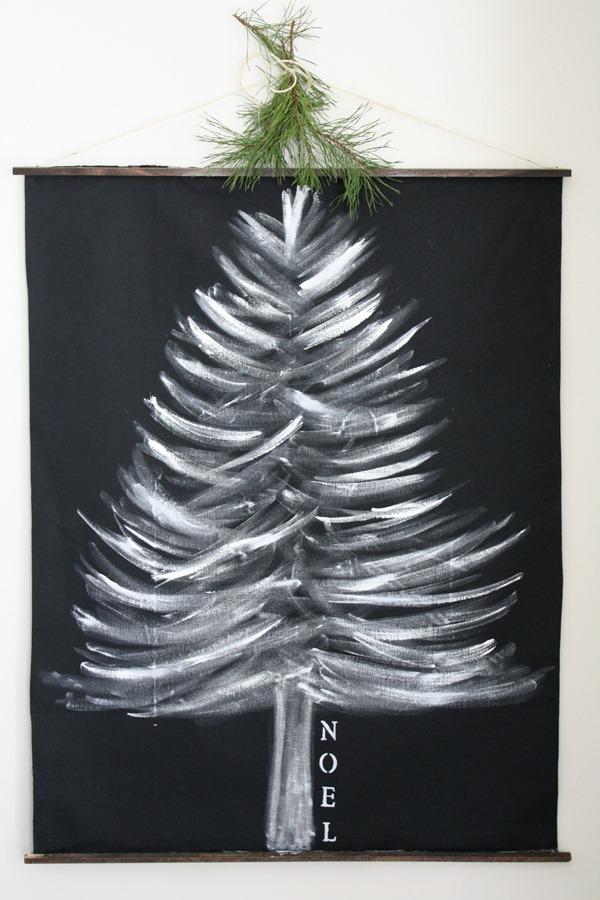 Collection Of Christmas Wall Hanging Christmas Tree