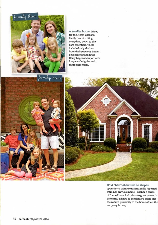 Our BH&G Refresh Magazine Article - Emily A. Clark Refresh Magazine
